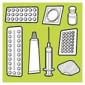 Birth control Clipart Vector Graphics. 301 birth control EPS clip.