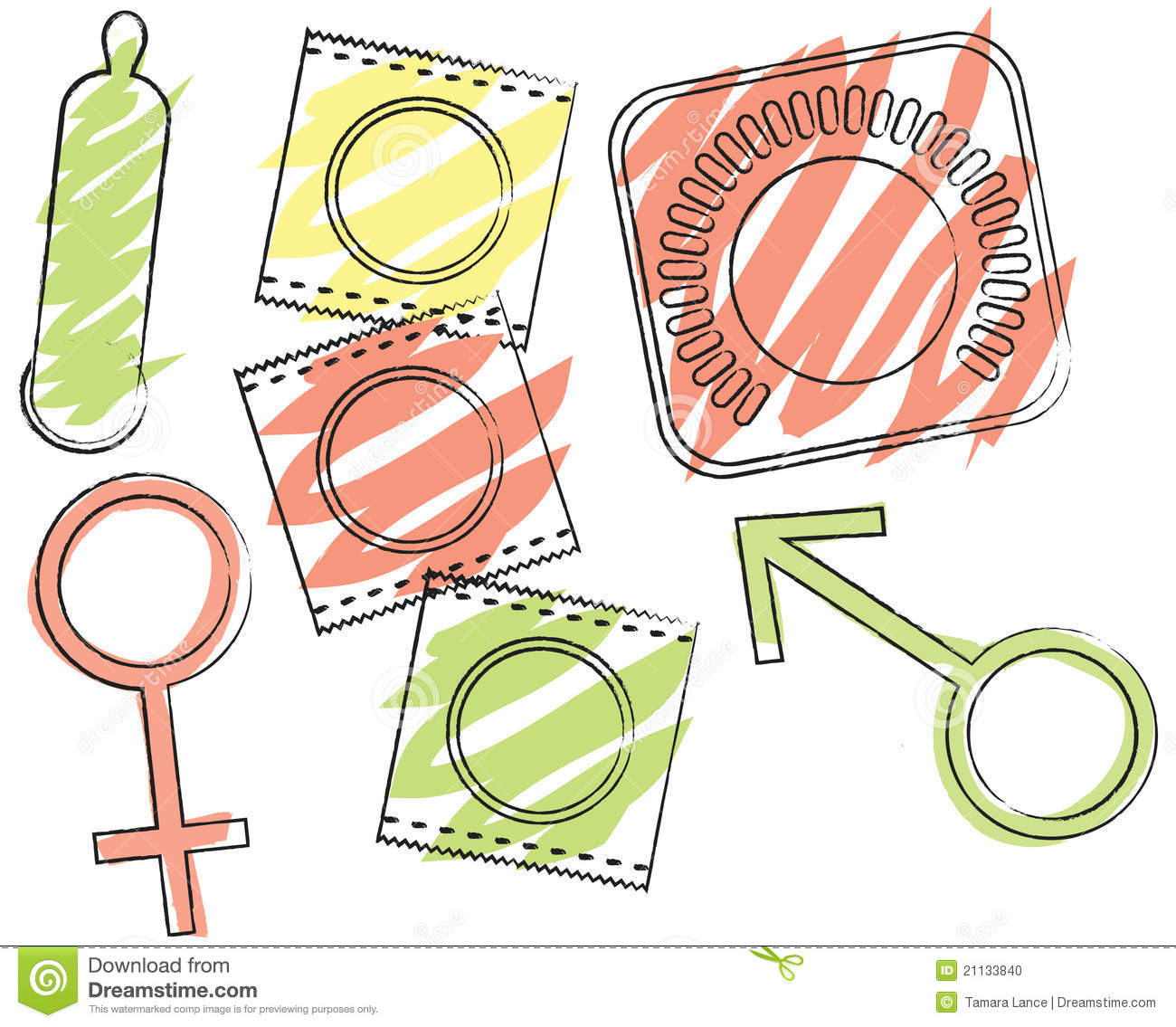 Birth Control Clip Art.