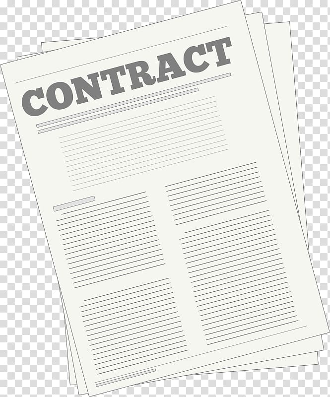 Contract , contract transparent background PNG clipart.