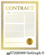 Contract Clip Art.