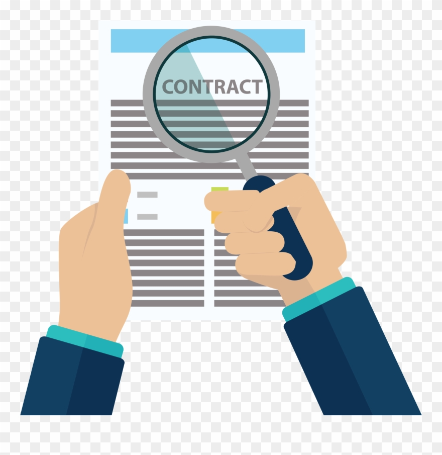 Jpg Black And White Library Contract Clipart Union.
