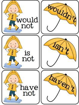 Contractions for a Rainy Day.