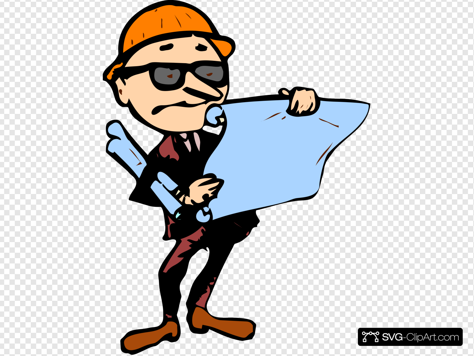 Contractor Clip art, Icon and SVG.