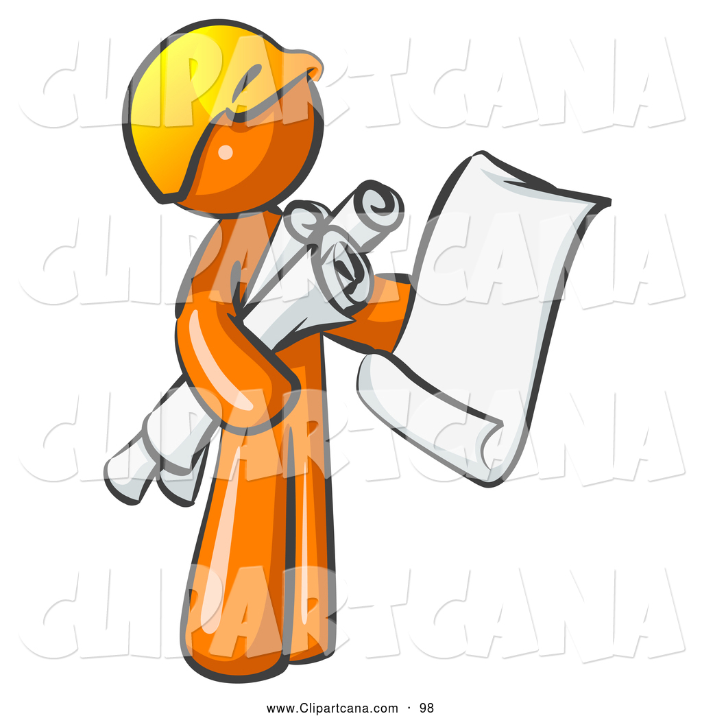 Vector Clip Art of a Orange.