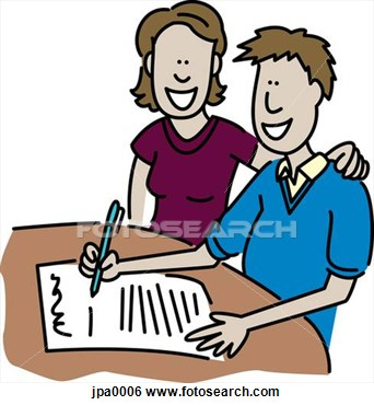 Contract 20clipart.