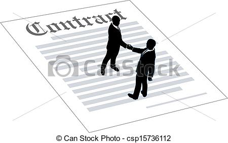Royalty Free Clip Art Contracts.