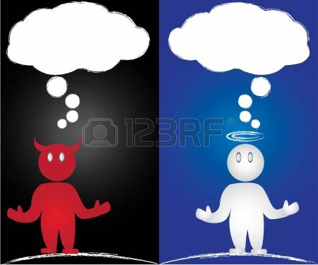 151 Contradictory Stock Vector Illustration And Royalty Free.