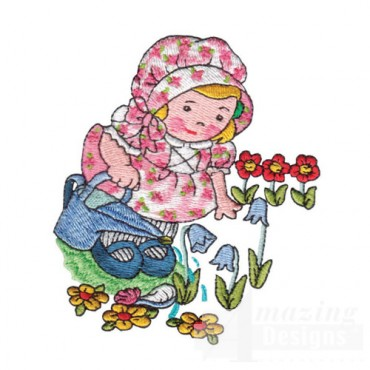 Image Gallery of Mary Mary Quite Contrary Clipart.