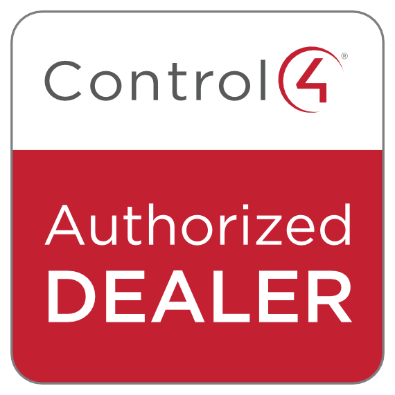 control 4 Authorised dealer logo.