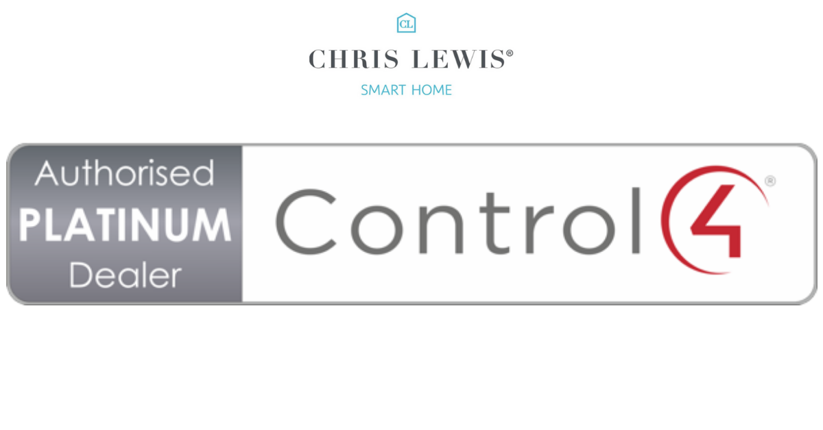 Chris Lewis Smart Home now a Control4 Platinum Dealer.