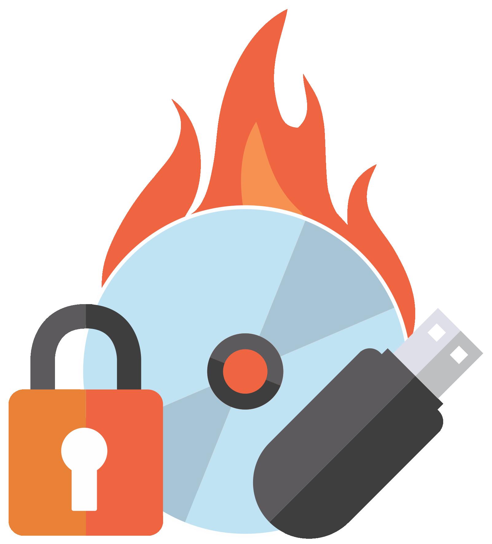 Roxio Secure Burn.