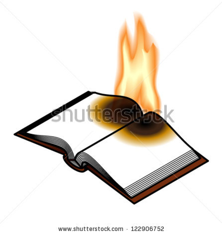 Books Burning Clipart images.
