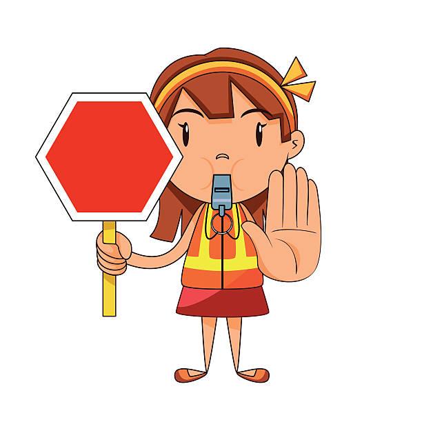 Best Traffic Control Illustrations, Royalty.