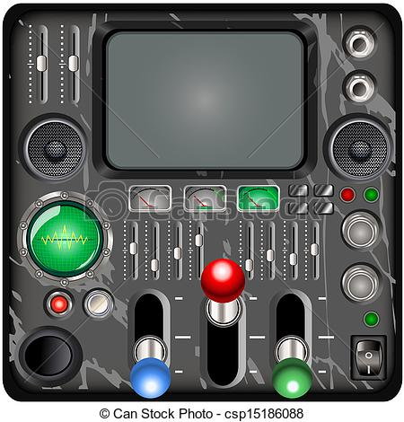 Control Panel Clipart.