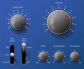 Control Panel Clip Art.