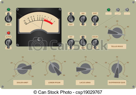 Control panel Vector Clipart EPS Images. 7,631 Control panel clip.