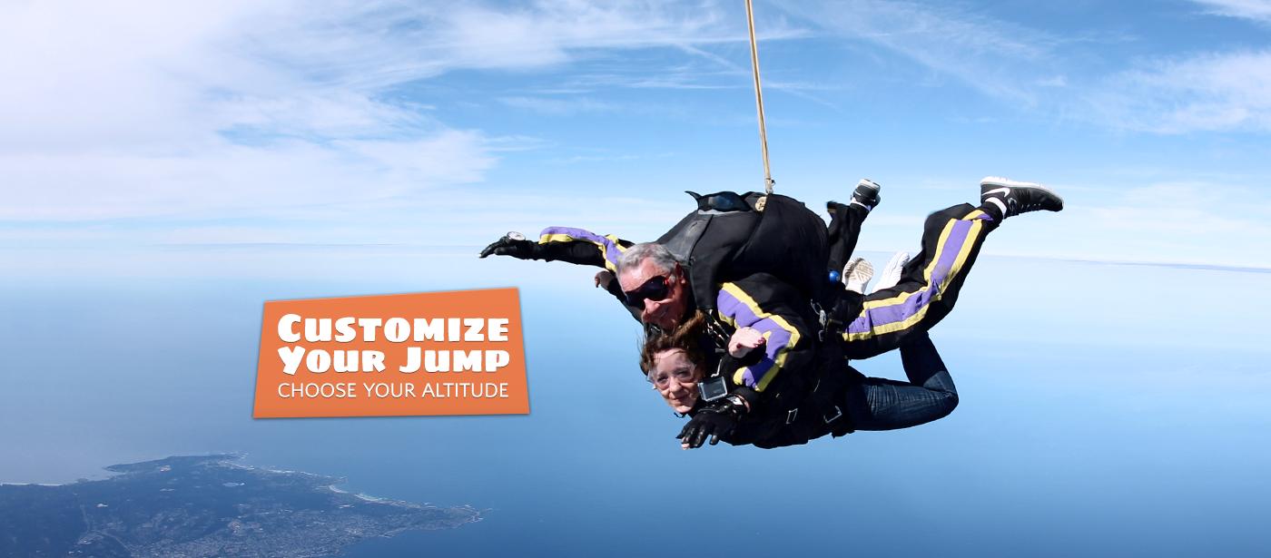 Tandem Skydiving « Skydive Monterey Bay.