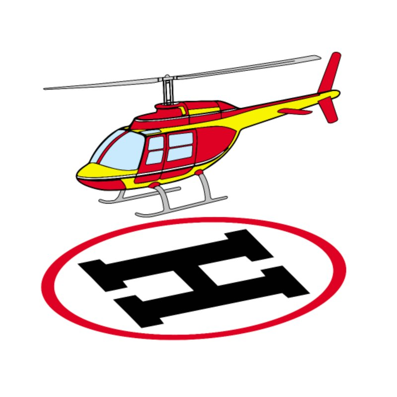 Landing helicopter iPhone 7 Case.