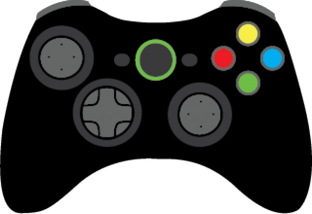 Video game controller clip art.