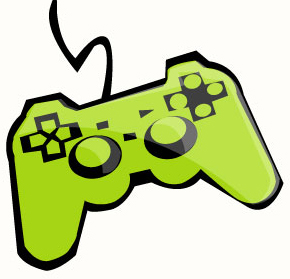 Free clipart video game controller.