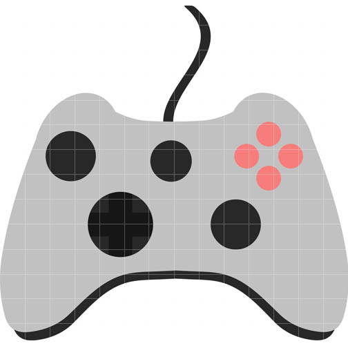 Video game controllers clipart.