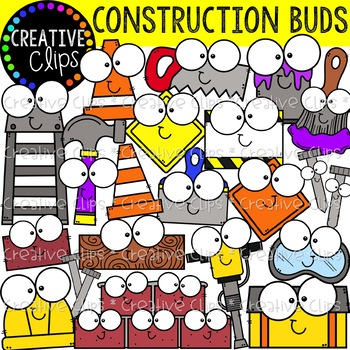 Construction Buds: Construction Clipart {Creative Clips Clipart}.