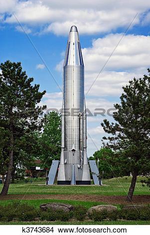 Stock Photo of Convair Atlas Rocket k3743684.