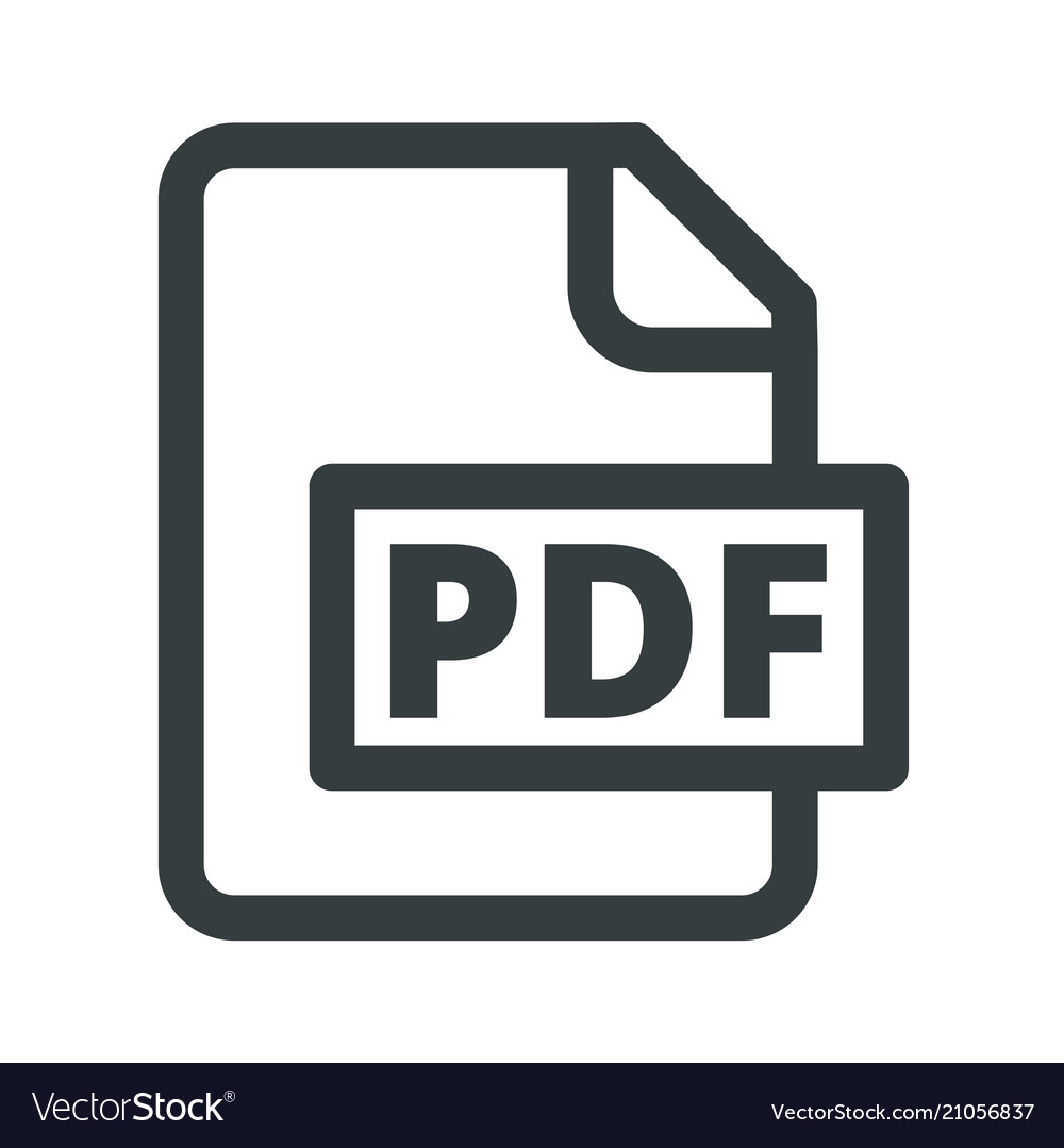The usual icon pdf simple convenient black and.