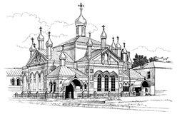 Convent Stock Illustrations.