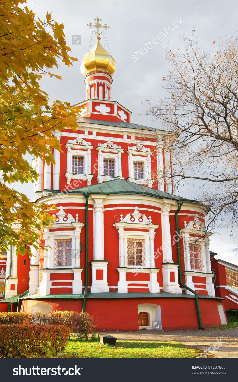 Novodevichy Convent Also Known As Bogoroditse Smolensky Monastery.