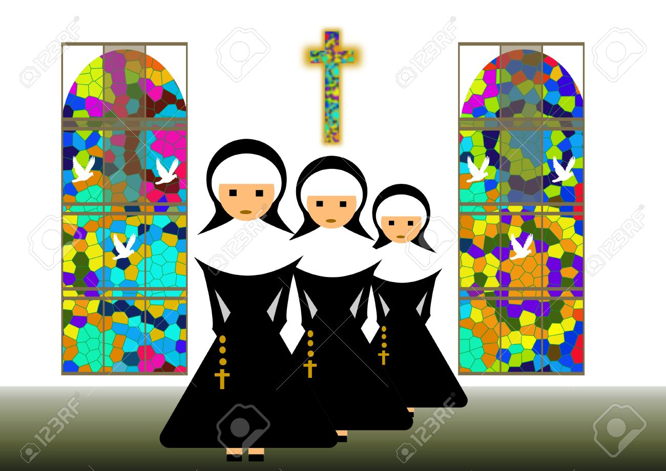 Nuns Stock Photo, Picture And Royalty Free Image. Image 10766648..