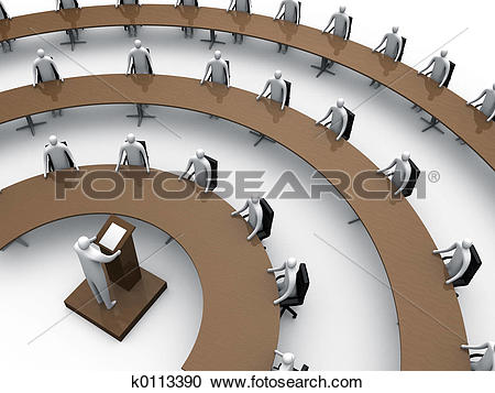 Stock Illustrations of Convention #5 k0113390.