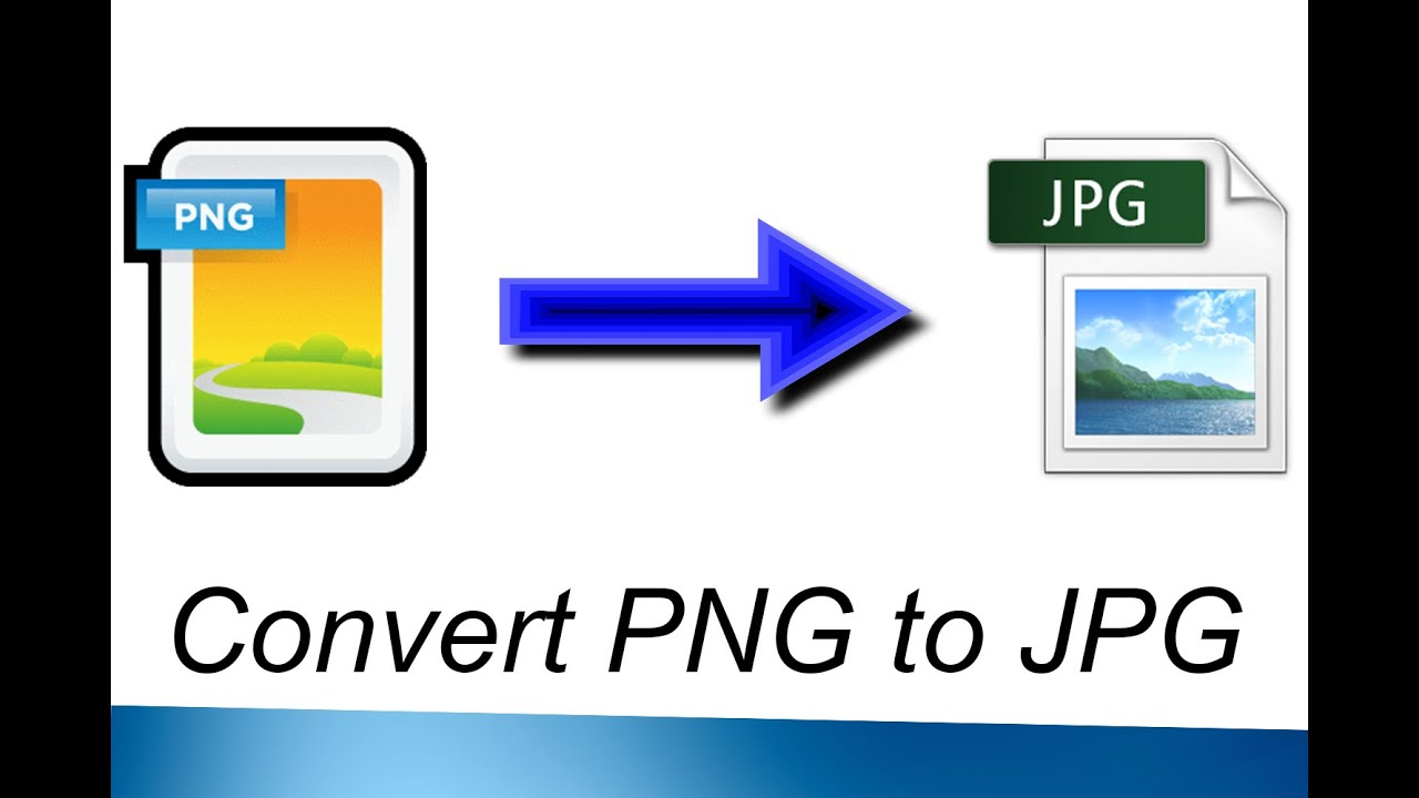 How to Convert PNG to JPG.