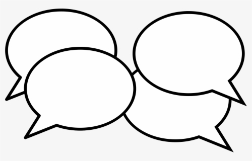 Free Conversation Clip Art with No Background.