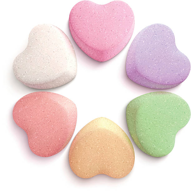 Best Candy Heart Illustrations, Royalty.