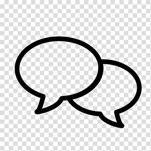 Computer Icons Speech balloon Conversation, chat transparent.