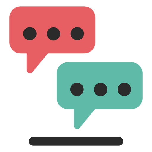 Download Free png Conversation bubbles contact icon Transparent PNG.