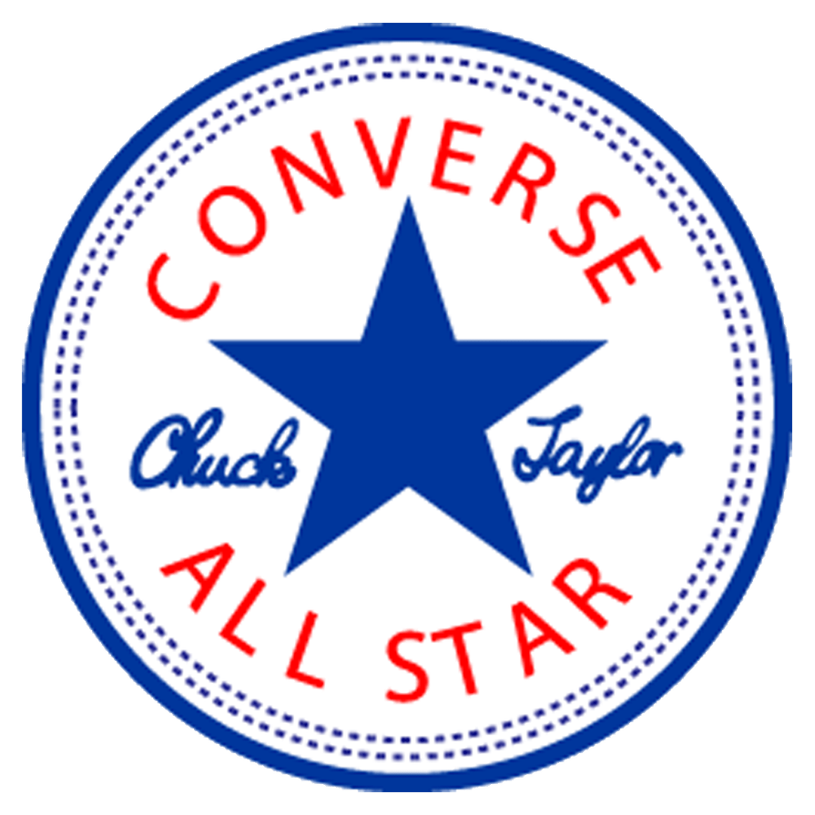 Converse All Star Logo transparent background.