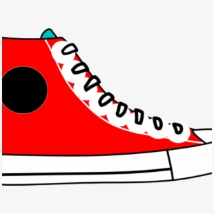 Converse Clipart Gym Shoe.