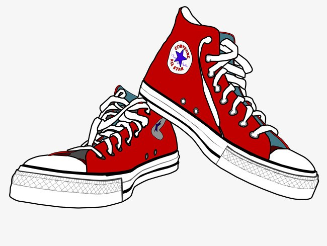 Converse shoes clipart 3 » Clipart Portal.