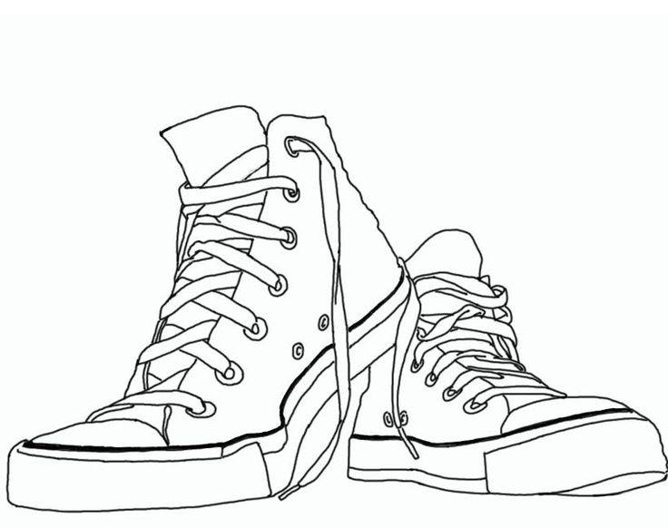 Chuck Taylor Sneaker Clipart #1.