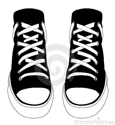 Converse Shoes Clipart.