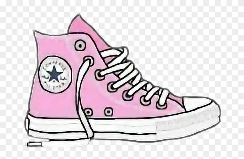 Picture Black And White Library Converse Clipart Cool.