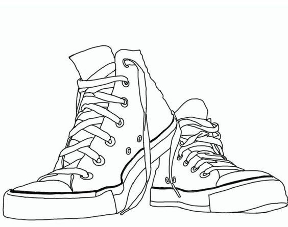 Free Converse Clipart Black And White, Download Free Clip.