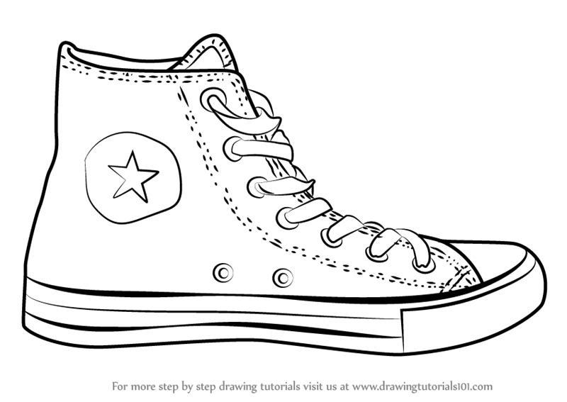 Converse clipart drawing, Converse drawing Transparent FREE.