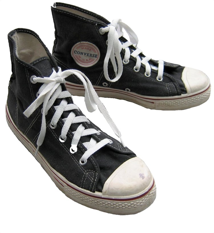 1950s converse © @smhhchloe uploaded by chloe.