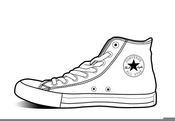 Converse Shoe Clipart & Free Clip Art Images #29071.