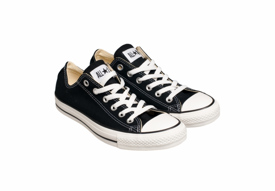 Pair Of Converse Shoes, Transparent Png Download For Free #807324.
