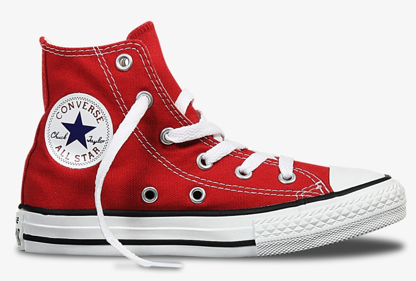 Orange Converse Shoe Png.