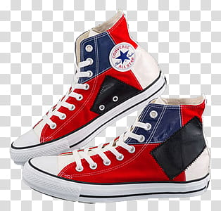 Converse, red.